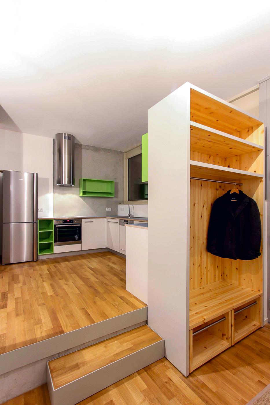 Küche und Garderobe | jan martin nürnberg