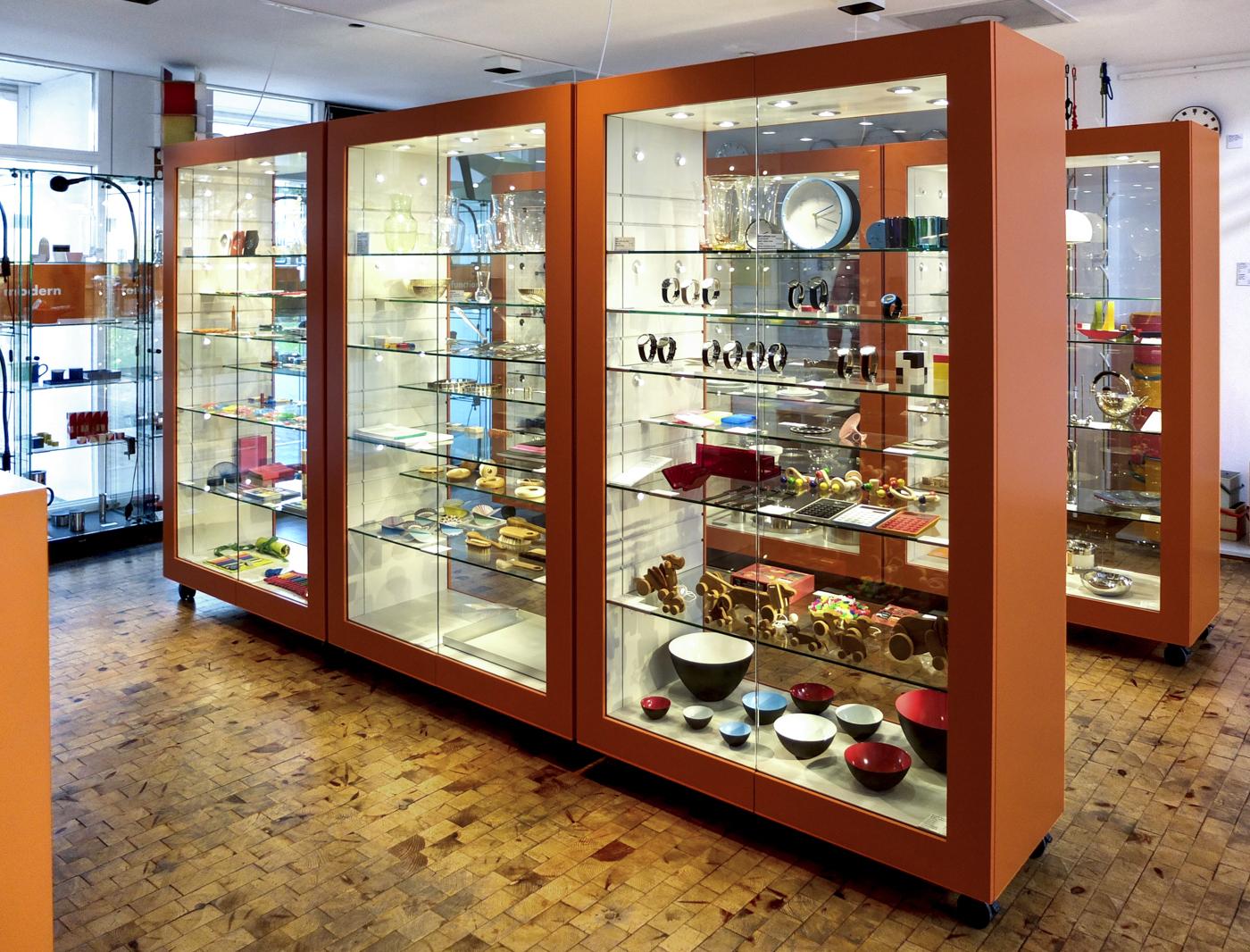 Shop Vitrinen Bauhaus Shop Im Bauhaus Archiv Berlin Jan Martin